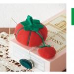 トマトとはりねずみの可愛いピンクッション