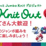 クロバーさんのハローニット Knit Out