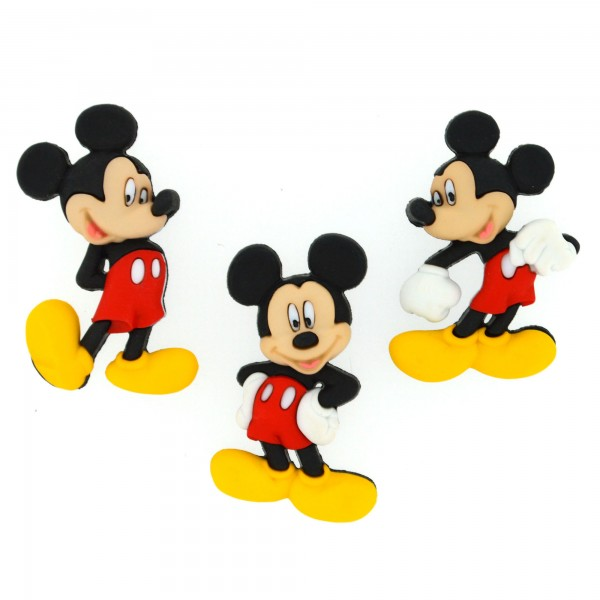 手芸用ボタン Disney 7716 MICKEY MOUSE