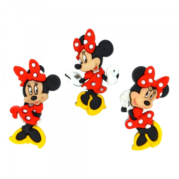 手芸用ボタン Disney 7717 MINNIE MOUSE